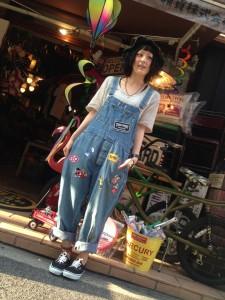 広島 リメイクオーバーオール 雑貨