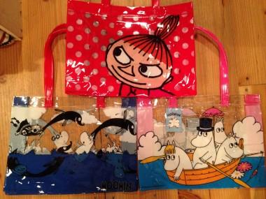 広島 ムーミンビニールバッグ 雑貨