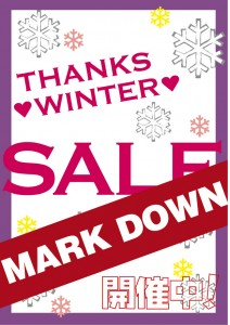 2013 THANKS WINTER SALE
