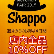2015AutumnSALE
