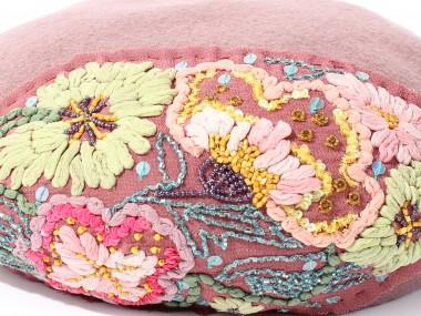 帽子通販専門店shappo online  CA4LA(カシラ)平面の花の変化 ベレー アップ