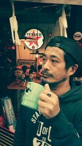 広島 ファイヤーキング風 プラスティックマグカップ 雑貨2