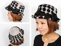 帽子通販専門店shappo online CA4LA(カシラ) LADY LIKE ハット サムネイル
