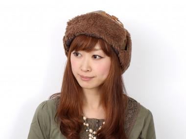帽子通販専門店shappo online  CA4LA(カシラ)地球飛行 飛行帽 着用1