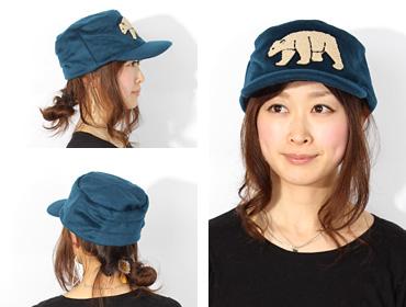 帽子通販専門店shappo online  Grace(グレース)THE ANIMAL CAP トップ