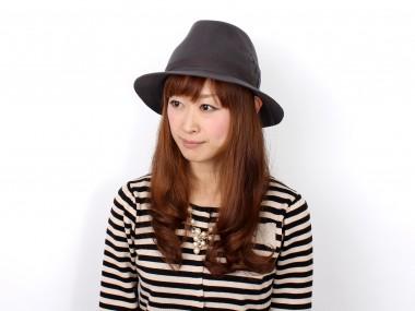 帽子通販専門店shappo online  CA4LA(カシラ)旅を編む ハット 着用1