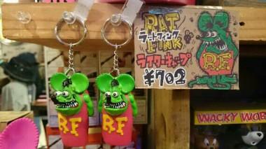 広島 ラットフィンク ライターキャップ 雑貨