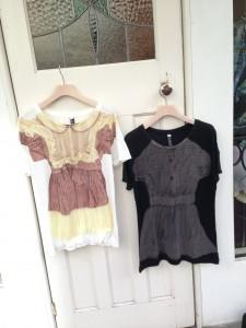 リトルドレスTシャツ二種