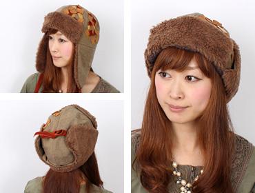 帽子通販専門店shappo online  CA4LA(カシラ)地球飛行 飛行帽 サムネイル