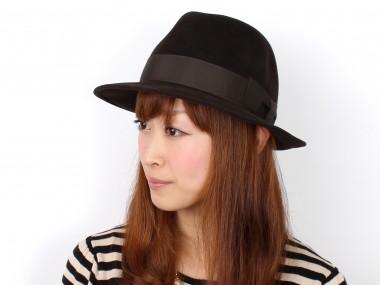 帽子通販専門店shappo online  CA4LA(カシラ)GENTLEMAN  ハット 着用
