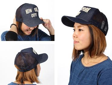 帽子通販専門店shappo online  Casselini(キャセリーニ) NYCキャップ キャップ トップ