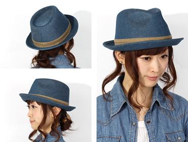 帽子通販専門店shappo online CA4LA(カシラ)NAKED 13 ハット トップ