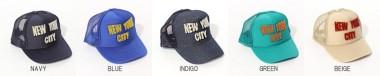 帽子通販専門店shappo online  Casselini(キャセリーニ) NYCキャップ キャップ カラバリ