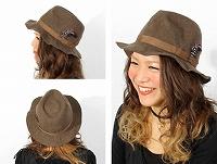 帽子通販専門店shappo online  RetteR(レッター)ウサヒツジ39リンクル ハット サムネイル