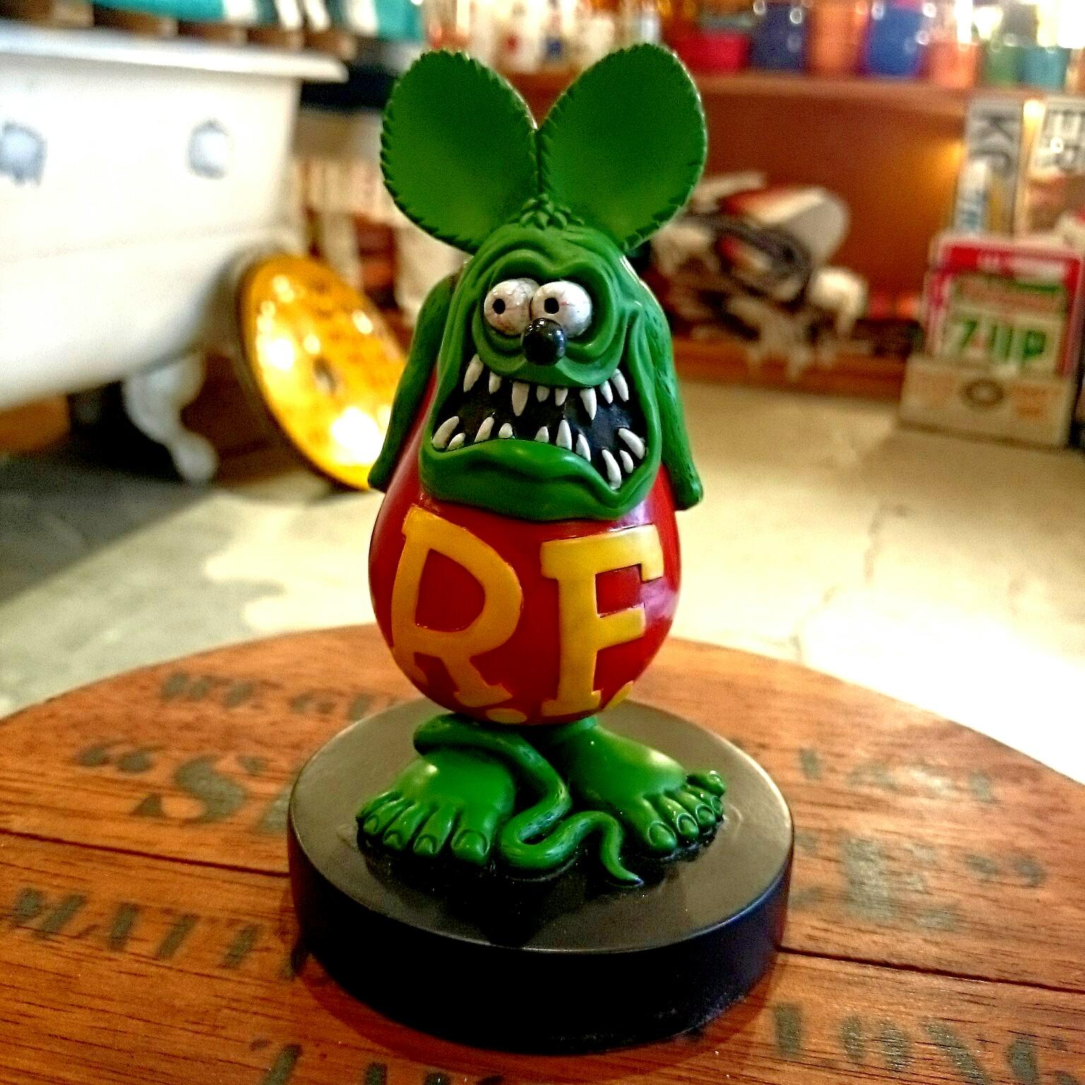広島 RAT FINK ラットフィンク ボビングヘッド 6INCH 雑貨3