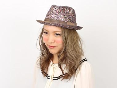 帽子通販専門店shappo online  CA4LA(カシラ) LIGHT DANCE ハット 着用1