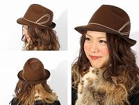 帽子通販専門店shappo online  RAKUDA HAT(ラクダハット)コードモチーフハット ハット サムネイル