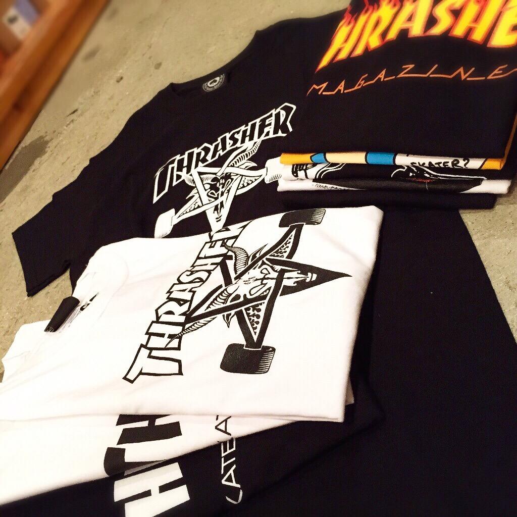 広島 THRASHER Tシャツ 雑貨