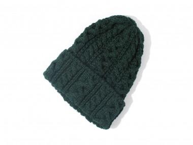 帽子通販専門店shappo online HIGHLAND2000(ハイランド2000)British Wool Cable Bob Cap ニットワッチ トップ