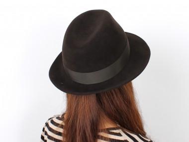 帽子通販専門店shappo online  CA4LA(カシラ)GENTLEMAN  ハット 着用2