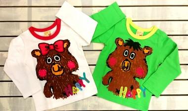 くまTシャツ01
