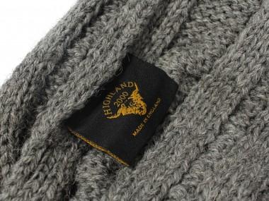 帽子通販専門店shappo online HIGHLAND2000(ハイランド2000)British Wool Cable Bob Cap ニットワッチ タグ