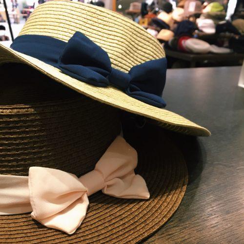 グロリア シフォンリボンカンカン帽 置画
