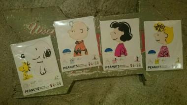 広島 ピーナッツ スヌーピー スタンディング メッセージカード 雑貨6