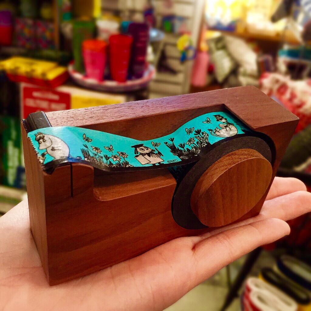 広島 MOOMIN スナフキン ミニテープカッター 雑貨3