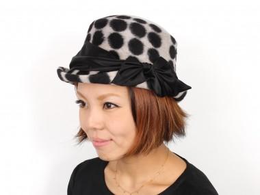帽子通販専門店shappo online CA4LA(カシラ) LADY LIKE ハット 着用