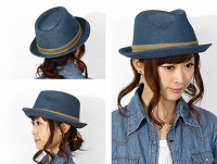 帽子通販専門店shappo online CA4LA(カシラ)NAKED 13 ハット サムネイル